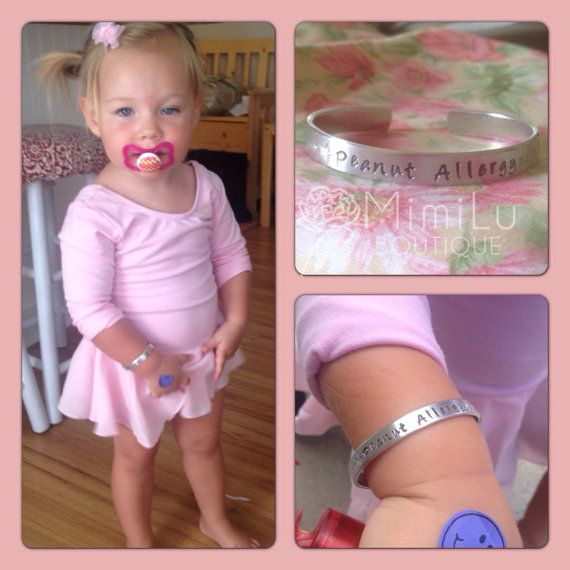 Children S Medical Alert Jewelry Bracelet Allergy For Food Peanut Gifts Allergies
