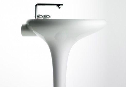 VitrA Bathroom: Istanbul Waschtisch mit angeformter Standsäule