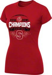 Stanford Cardinal Women's 2013 Rose Bowl Champions T-Shirt  http://www.fansedge.com/Stanford-Cardinal-Womens-Bowl-Champion-T-Shirt-_813493197_PD.html?social=pinterest_pfid42-68952