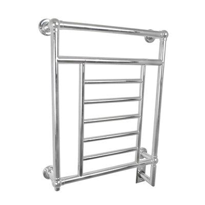Amba T-2536 P Traditional Towel Warmer This Towel Warmer by Amba has a polished nickel finish.  Traditional Towel Warmer	Helps bathrooms stay warm, mold