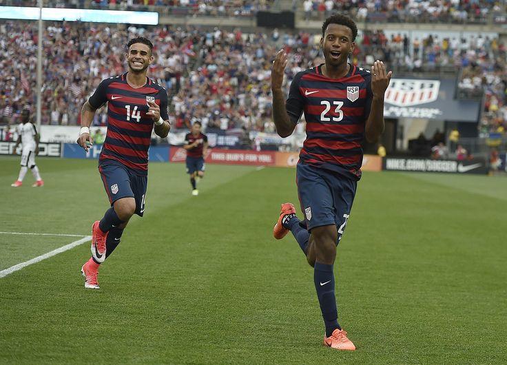 U.S. beats Ghana 2-1 in lone friendly ahead of Gold Cup