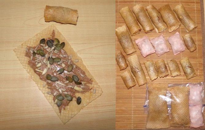 """Baboon rolls"", food-based enrichments"