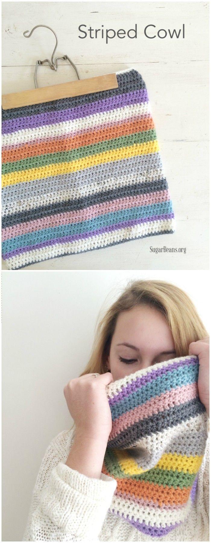 556 besten crochet+knitting scarf and cowl Bilder auf Pinterest ...