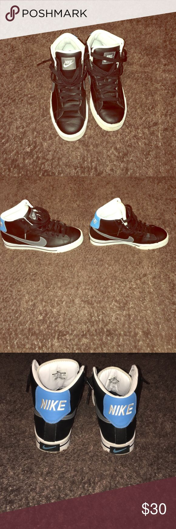 Men Nike Mid top sneakers Nike Blazers excellent condition..priced to sell Nike Shoes Sneakers