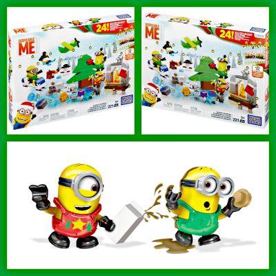 Mega Bloks Minions Movie Advent Calendar Toy Advent Calendars