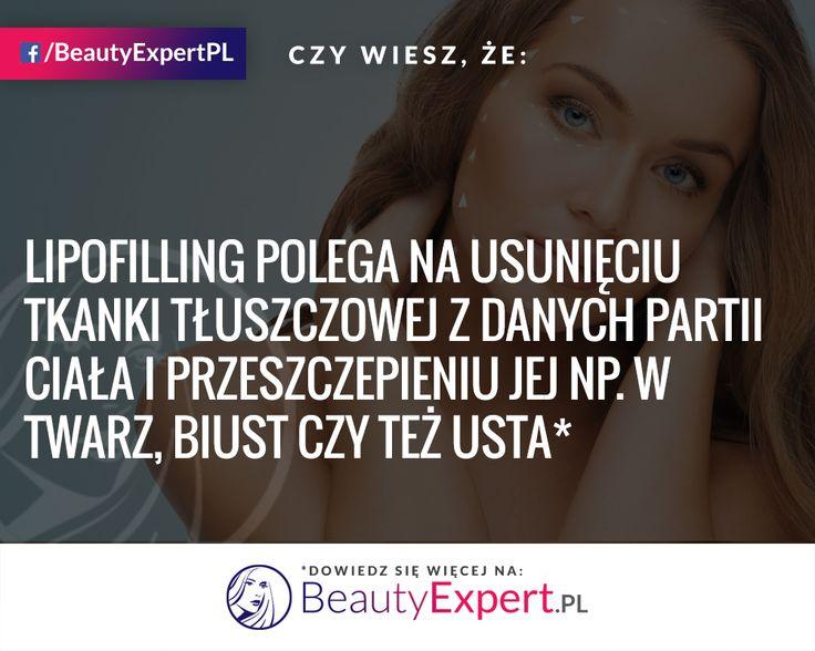 Lipofilling pozwala na pozbycie się kilku problemów jednocześnie ;) Zdecydowałabyś się na taki zabieg? #BeautyExpert #Lipofilling #Lipotransfer #ChirurgiaPlastyczna #OperacjePlastyczne