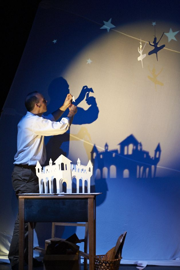 Norwich Puppet Theatre Xmas 2013 production. Photo by Andi Sapey