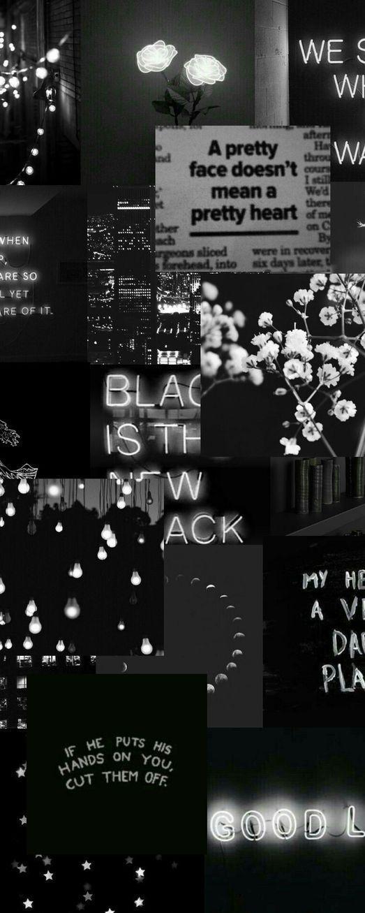 Pin By Mz On I Phone X Wallpaper S Black Aesthetic Wallpaper Black Wallpaper Black Aesthetic Baddie black vintage aesthetic wallpaper