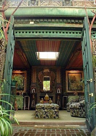 Tony Duquette Interiors | Garden Room at Tony Duquette's Dawnridge. American ... | Tony Duquette