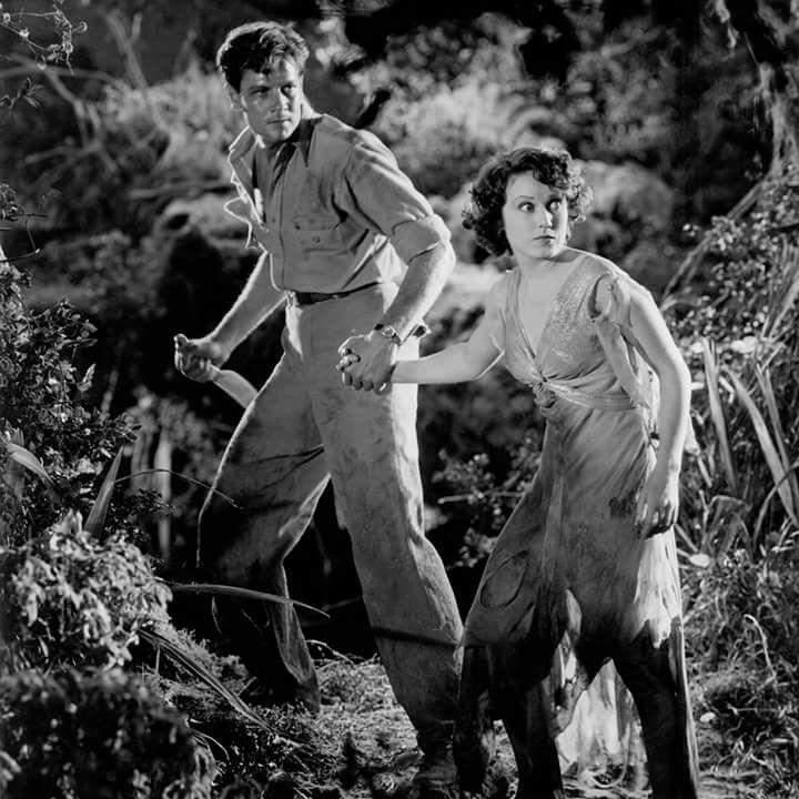 Joel McRae and Fay Wray 1932