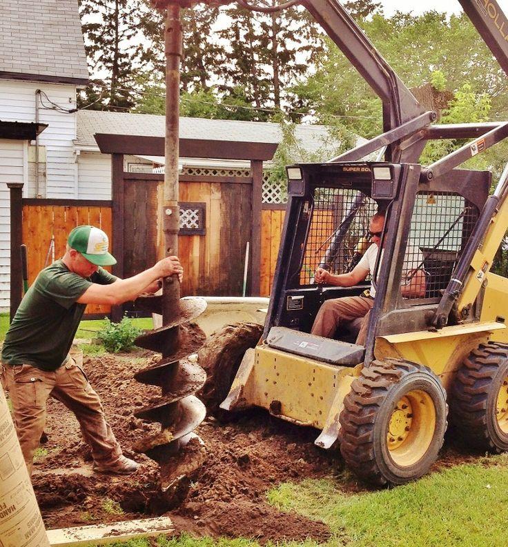Big Boy Toys Alaska : Big boys toys yard torn up again for mancave porch