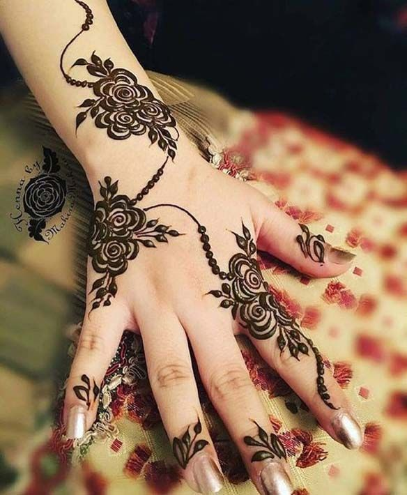 Cute And Simple Mehandi Designs For Girls Mehndi Designs Pictures