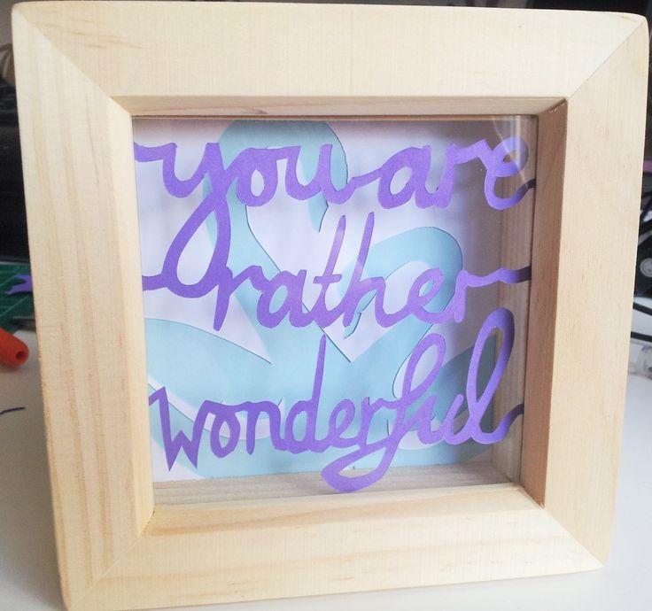 Paper cutting art - inspiring quotes