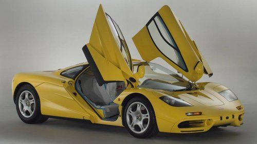 Unused 1997 McLaren F1 goes up for sale could shatter price record