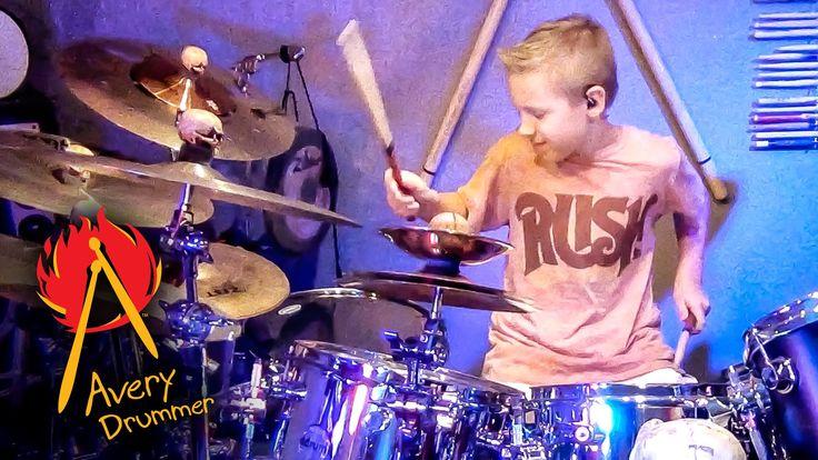 La grange avery molek 9 year old drummer favorite guitarists drummers ukulele drums - Zz top la grange drum cover ...