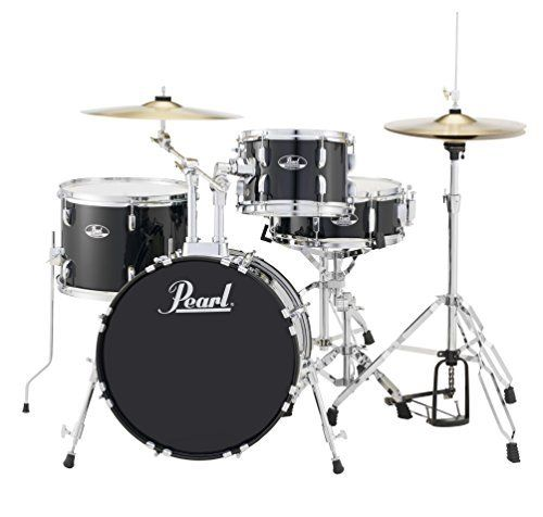 #2: Pearl RS584CC31 Roadshow 4-Piece Drum Set Jet Black Pearl RS584CC31 Roadshow 4 Piece Black is a great pick from the popular selling items in Musical Instruments  category in Canada. Click below to see its Availability and Price in YOUR country.
