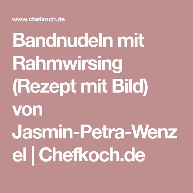 Bandnudeln mit Rahmwirsing (Rezept mit Bild) von Jasmin-Petra-Wenzel | Chefkoch.de