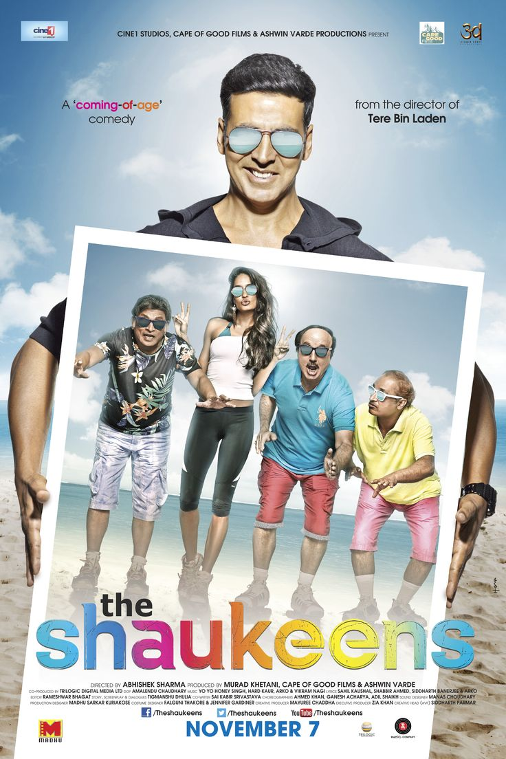 'The Shaukeens' coming to town on Nov 7 http://wp.me/p47HVy-2DC #bollywood #aksheykumar #movie #hindi #india #pakistan #moviereview #style #comedy