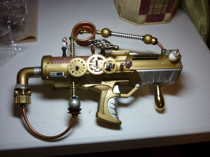 Another cool steampunk water gun.