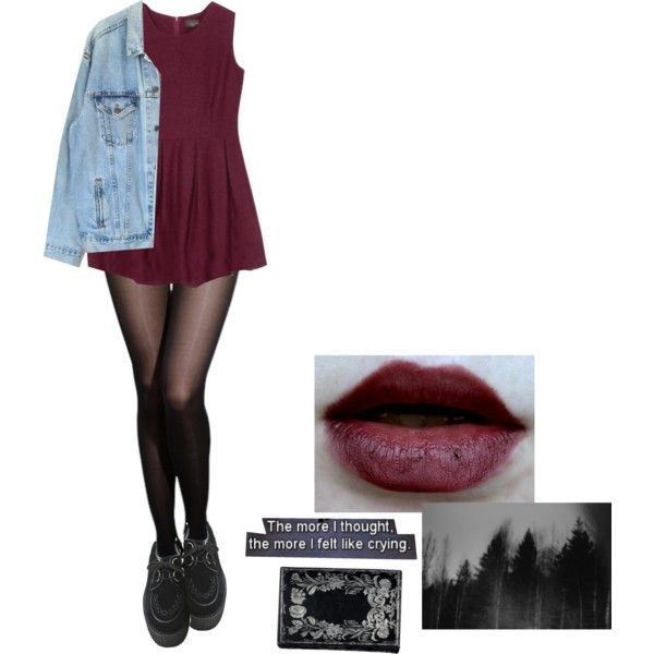 Untitled #140 by violent-eyes on Polyvore featuring Levi's, Pantone, cute and grunge