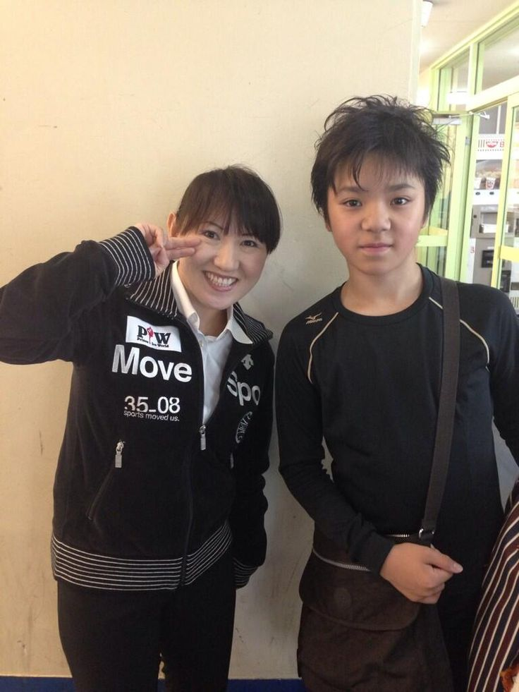 Twitter / UnoJunko: 昌磨の方が大きくなってる(≧∇≦) Midori Ito & Shoma Uno