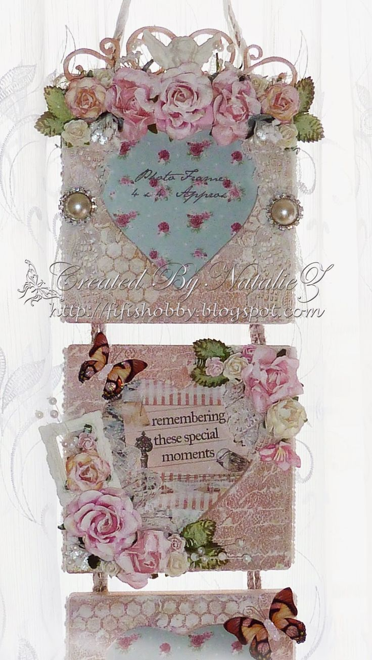 Hi Ladies, Today I would like to show you my gift set. This set was made as a gift for my older daughter's teacher. I made this photo f...
