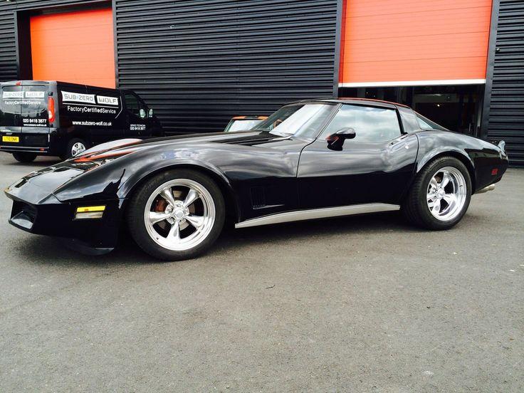 1981 Corvette C3 T Bar 2 Door Coupe Black Automatic Brand ...
