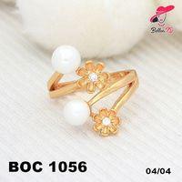 Xuping Cincin Mutiara Bunga Permata Gold Lapis Emas OC 1056  Perhiasan Xuping Lapis Emas 18k, Awet dan Tahan Lama, pancaran kilau cantik . Tampil cantik dengan keunikan pilihan model dan warna sesui hati anda  Fast Respon Pin BBM : D5B0B9AB  WA/SMS/Telp : 081546577219  bahan dasar tembaga (bukan besi). dilapisi RODHIUM yang biasanya digunakan untuk melapisi emas di toko-toko emas 18k.Permata Zircon, Bisa di sepuh ulang dan anti alergi.
