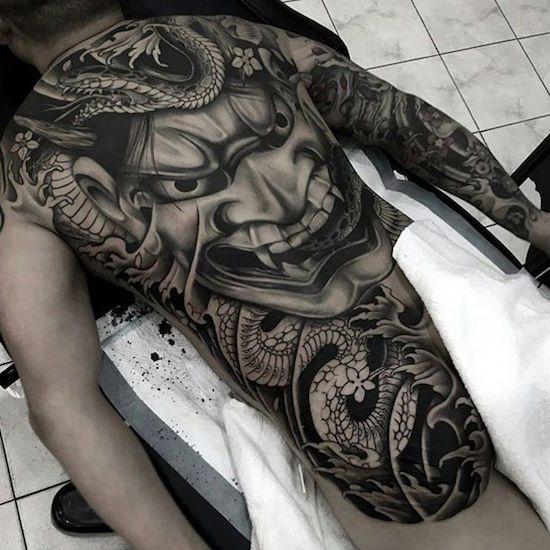 288 Besten Hannya Tattoos Bilder Auf Pinterest