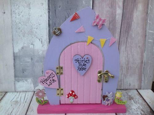 "Personalised handmade wooden #freestanding #opening fairy door ""fairies #garden"", View more on the LINK: http://www.zeppy.io/product/gb/2/201720364252/"