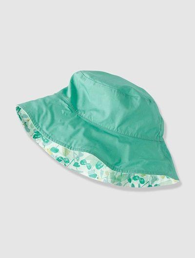 Chapéu reversível, para menina