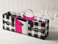 True: Wine Purse Bags - Set of 4