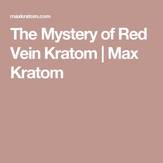 The Mystery of Red Vein Kratom | Max Kratom