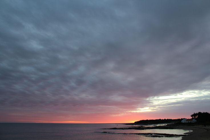 Sunset in La Turballe France [3110x2073] [OC]
