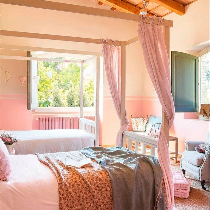 M s de 25 ideas incre bles sobre cortinas de cama con for Camas con cortinas