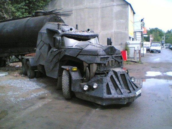 Dragon Tank Truck from Russia.Zombies Apocalypse, Mad Max, 18 Wheeler, Custom Trucks, Dragons, Semi Trucks, Batmobile, Tanks, Hot Wheels