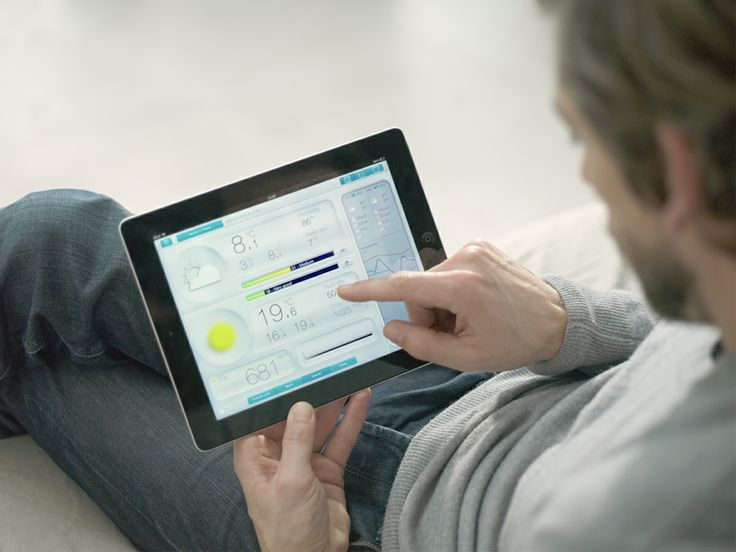 Have all your measurements of your personal weather station directly on your Smartphone or tablet.
