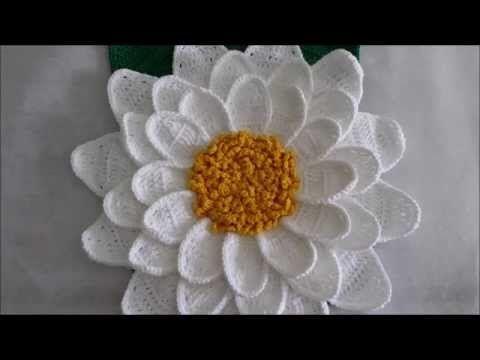 Beautiful Flower – Let's Learn How to Crochet One | Design Peak