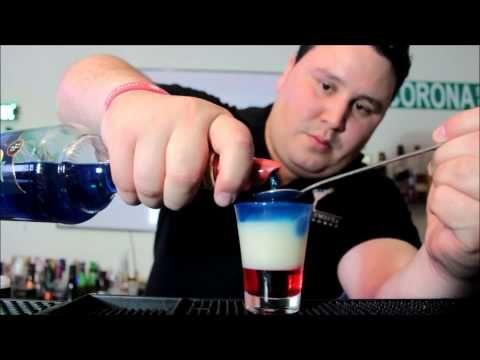 Final Justice (captain america shot) - El Alquimista Del Cocktail - YouTube