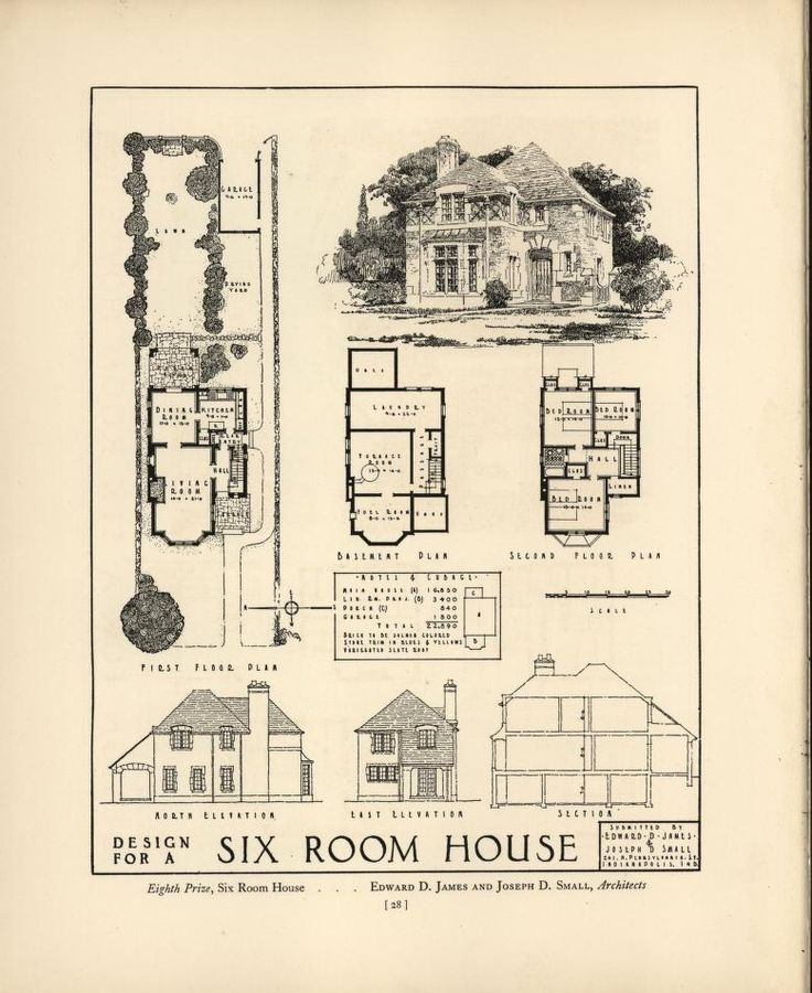 257 best house plans 1900 1930s images on pinterest for 1930s house plans