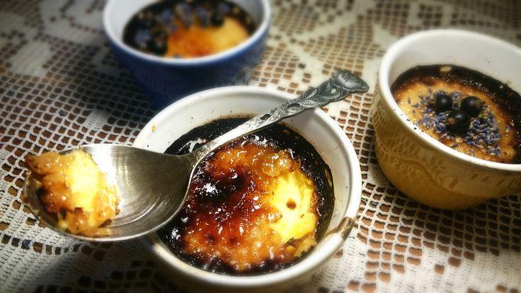 Levandulové Cream Brulee