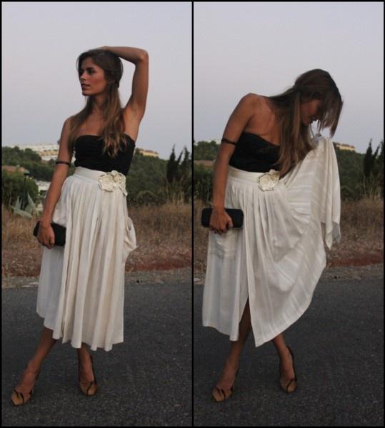 Be romanticFashion Interesting, Midi Skirts, Fully Fashion, Fashion Clothing, Long Skirts Summer Outfit, Fashion Fav, Long White Skirts Outfit, Elf Style, Women Skirts Outfit