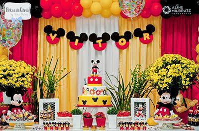 Artes da Chris: Meu amigo Mickey Mouse para Vitor