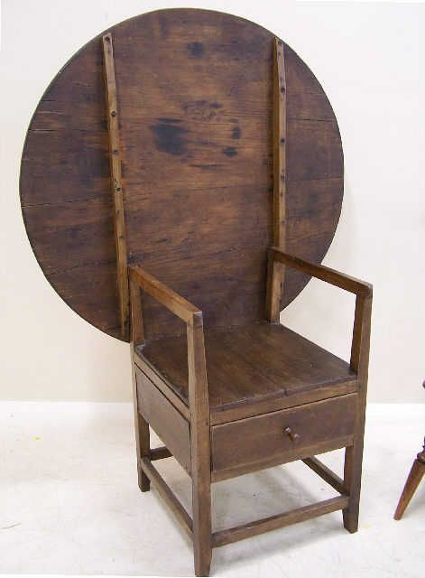 Early American tilt top chair/table - 107 Best FURNITURE - Chairs Images On Pinterest Furniture Chairs