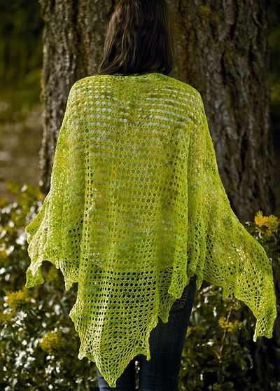 Los complementos de ganchillo de kim guzman crochet shawl free crochet and hooded cowl - Complementos de ganchillo ...