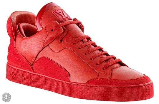 Tenis Louis Vuitton Rojos