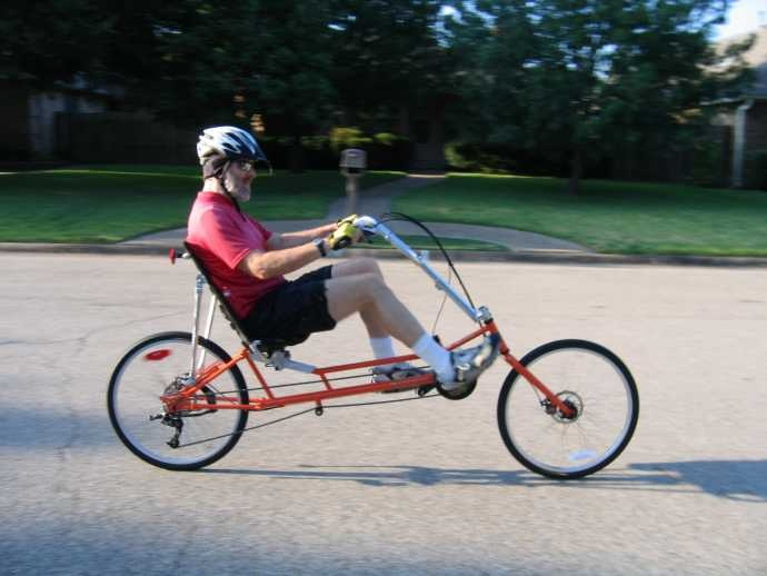 The Ranger is a good touring recumbent | Bicycle Fun Ideas ...