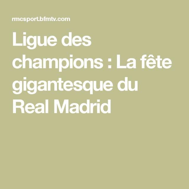 Ligue des champions : La fête gigantesque du Real Madrid