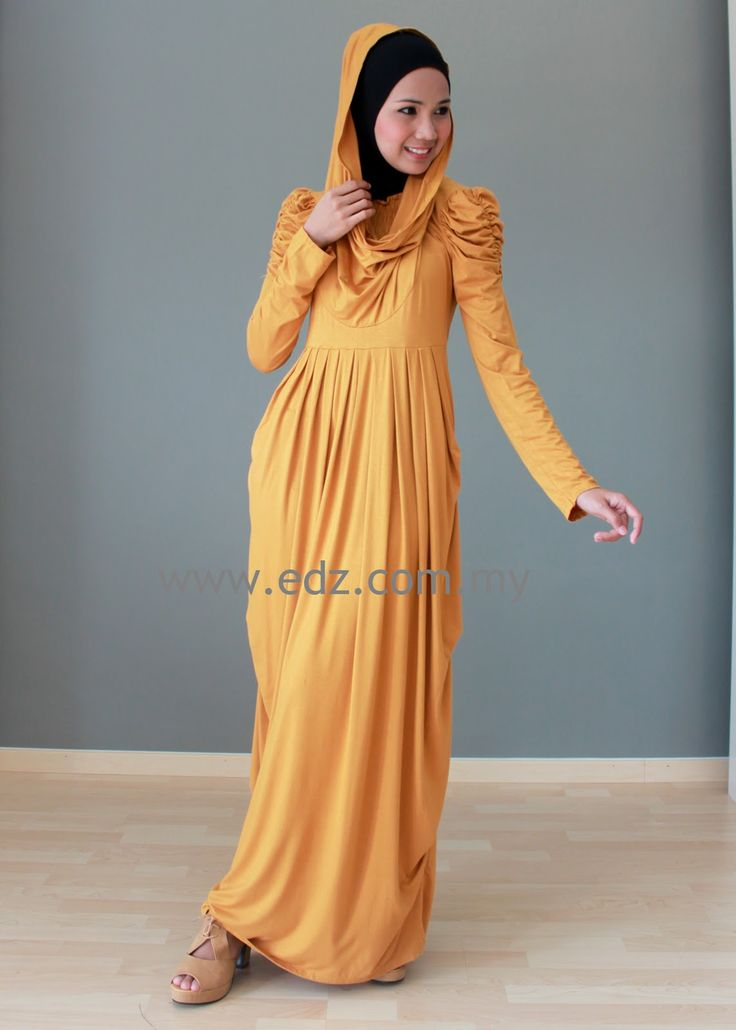 Hooded Maxi Dress Maxi Dress Hooded Mutiara Edz Eightdesigns Malaysia 39 S Online