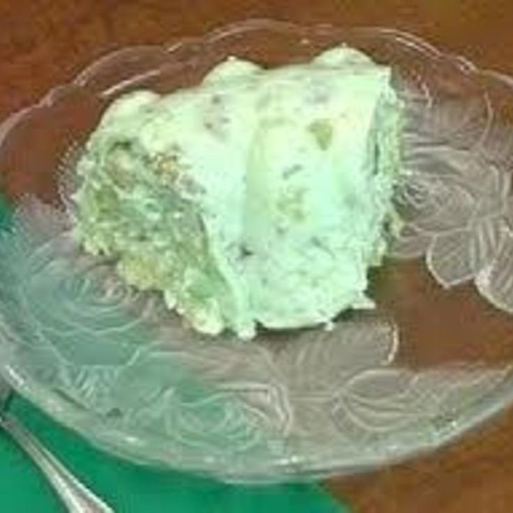 Lime Jello Salad-  mom used to make this and I loved it.  May make it this holiday season.